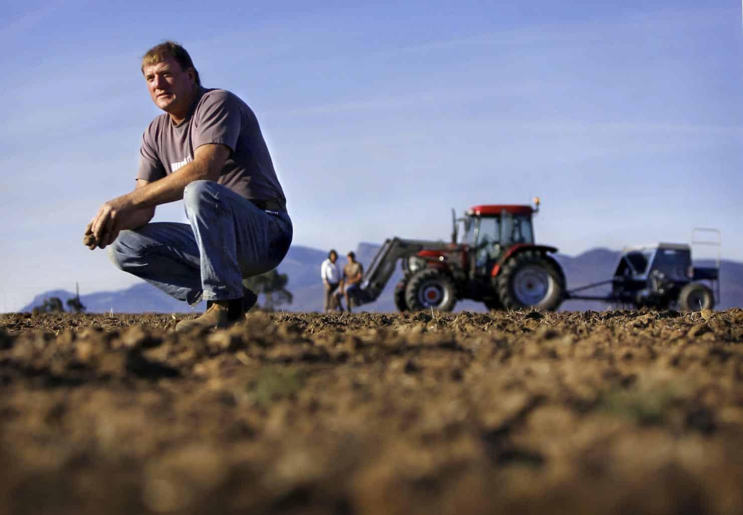 Grampians farmer Graeme Delahunty,