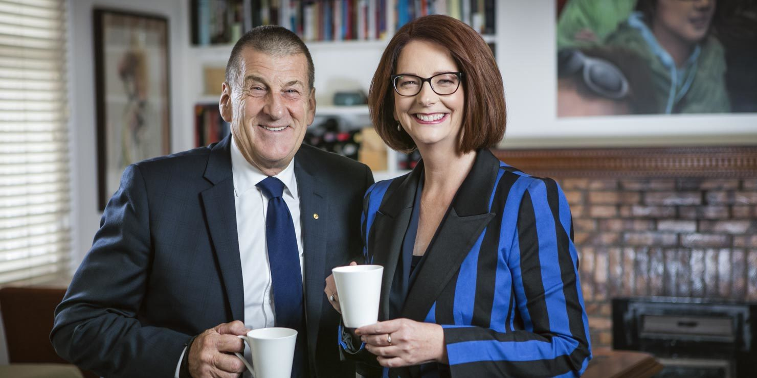 Jeff Kennet & Julia Gillard