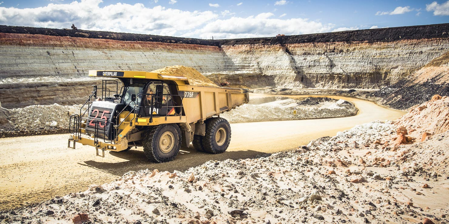 Industrial Photographer Mining Quarry Truck