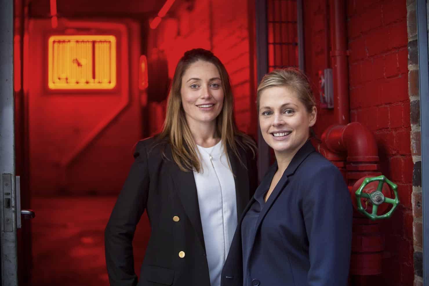 Entrepreneur women in Melbourne laneway