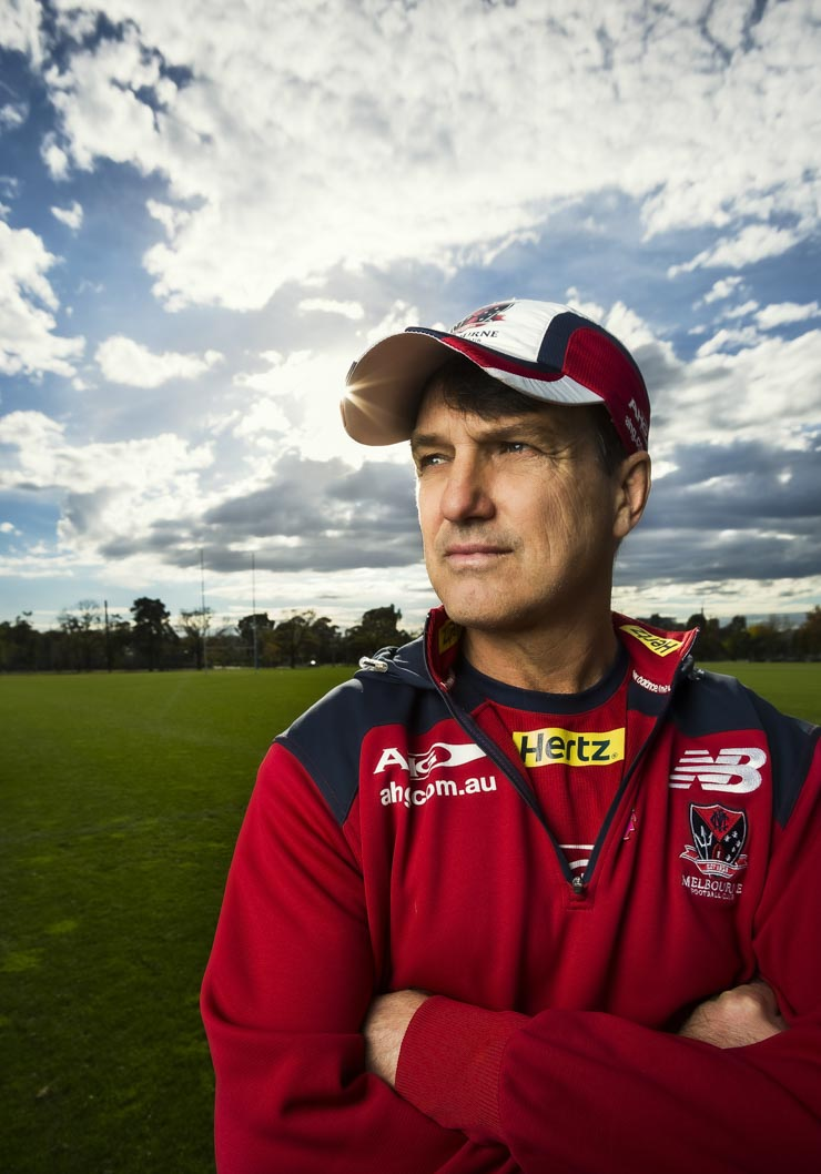 Melbourne Football Club coach Paul Roos.
