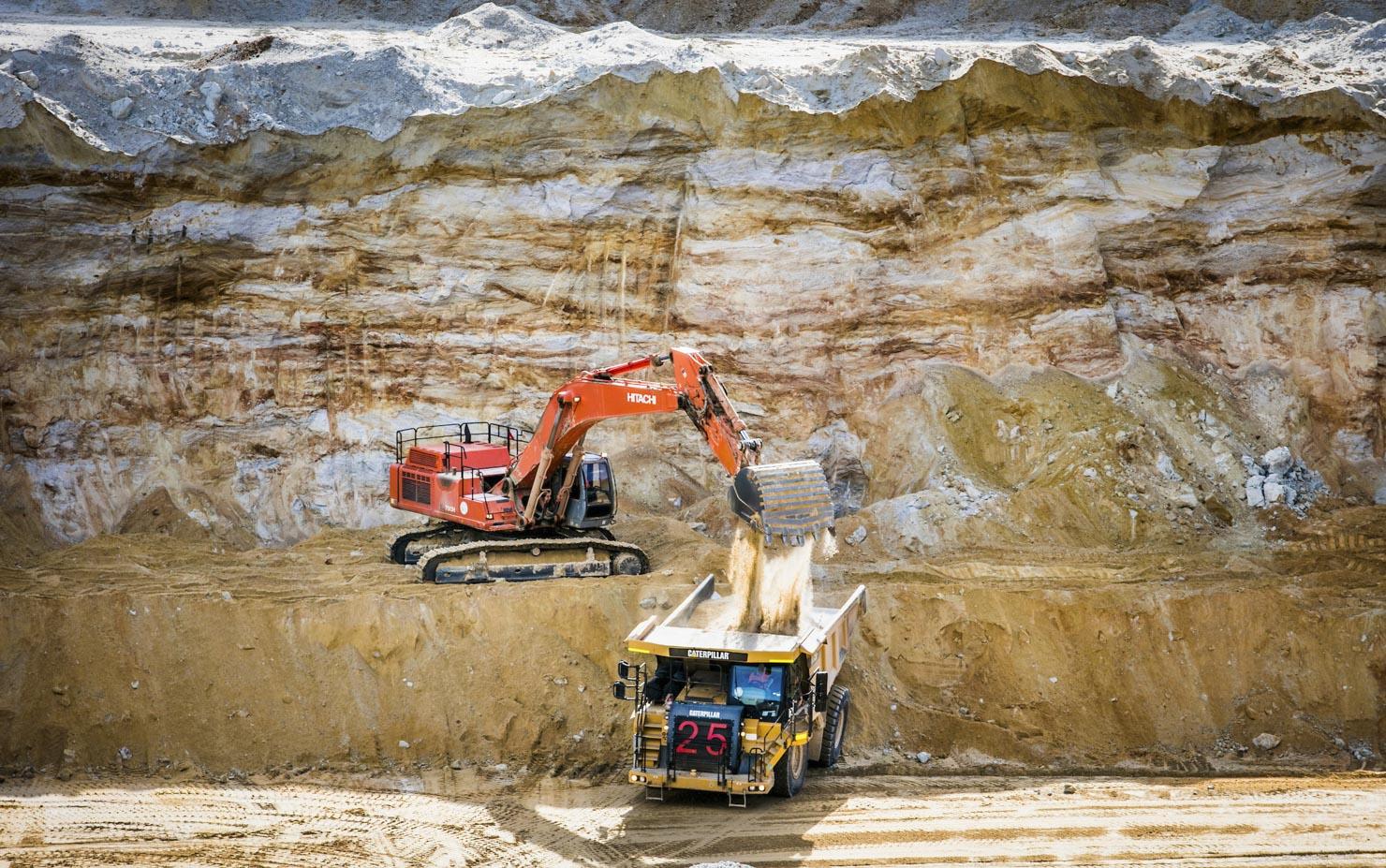 Boral Quarry Bacchus Marsh Victoria Australia