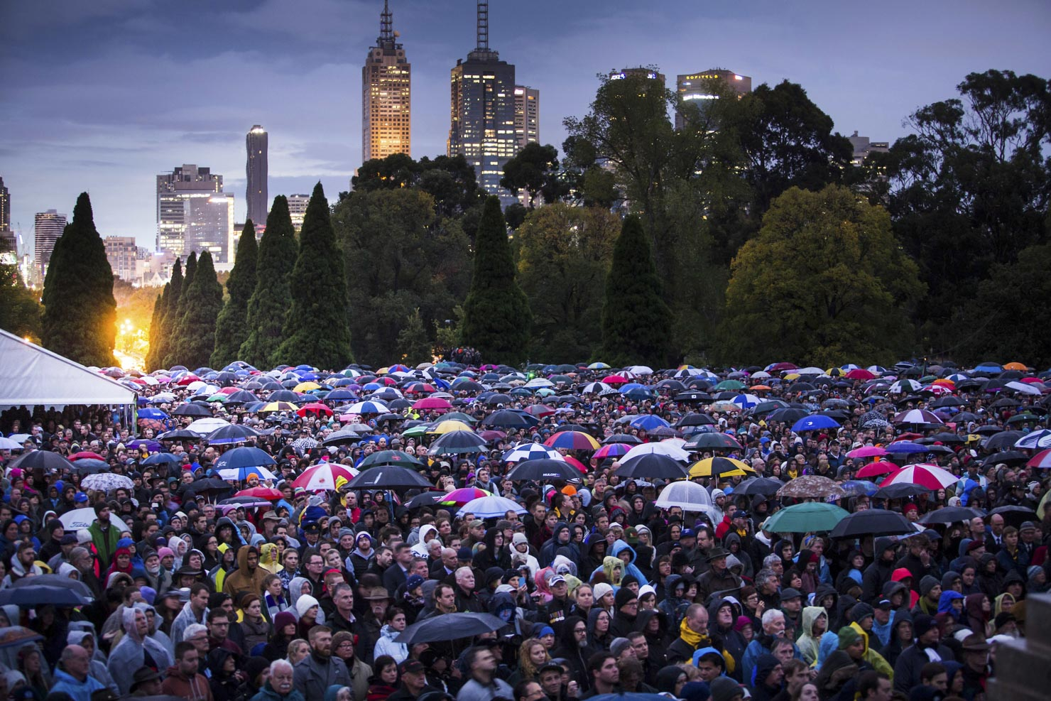 ANZAC Day Crowds