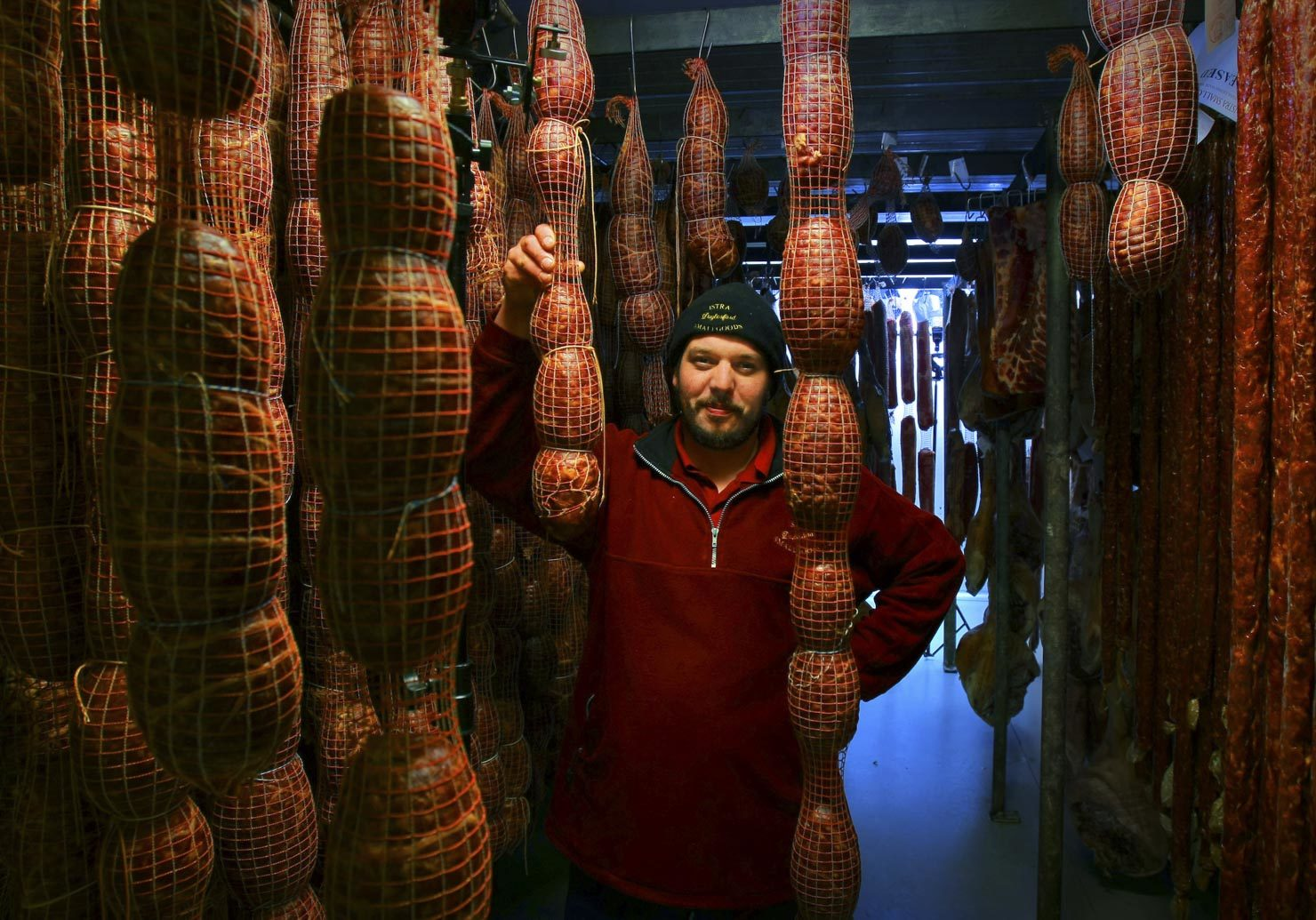 Sebastian Jurcan of Istra Meats, in MUSK near Dalesford