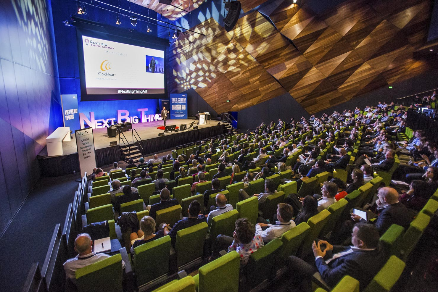 Conference photography at Melbourne Exhibition Center