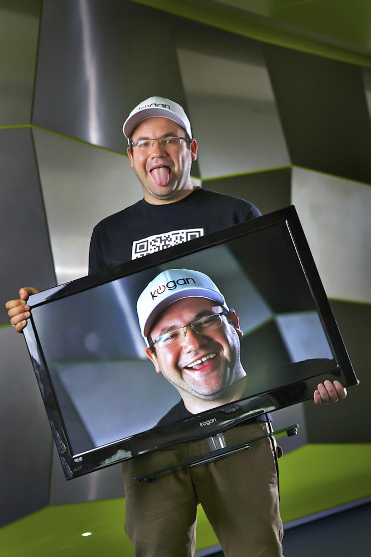Ruslan Kogan who sells TVs on the internet