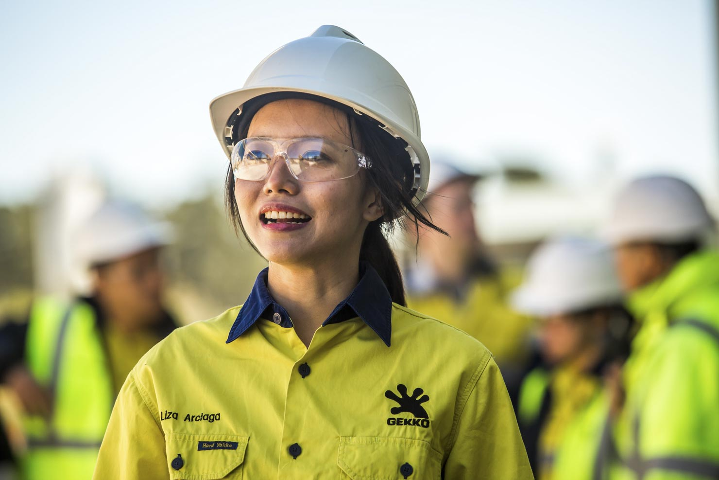 Female Asian industry worker at Gekko Systems