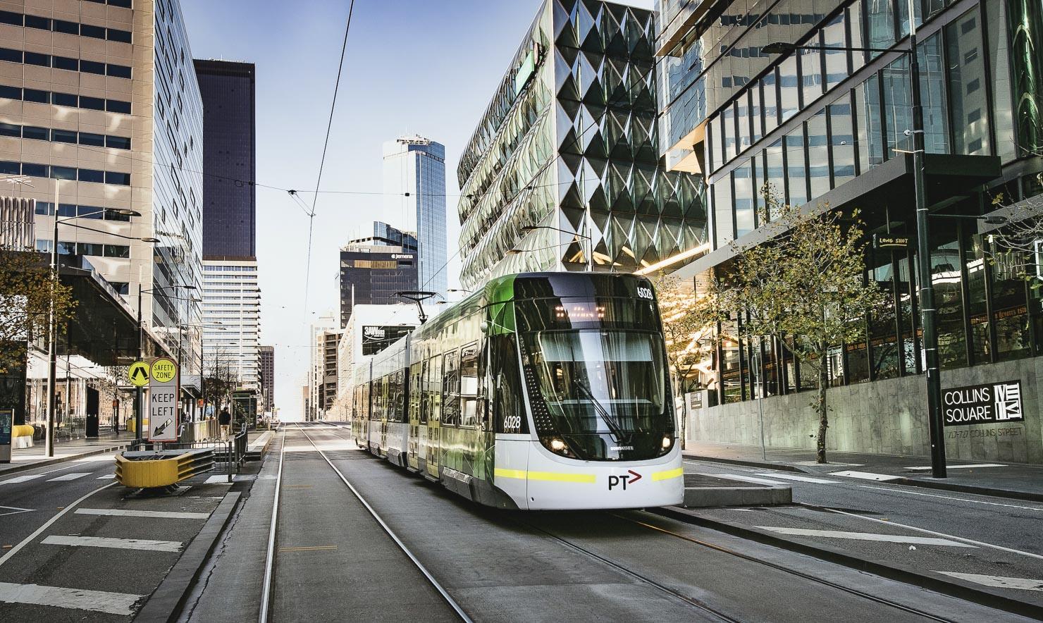 Melbourne Tram, Lonsdale Street Docklands